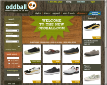 OddBall's Current Website